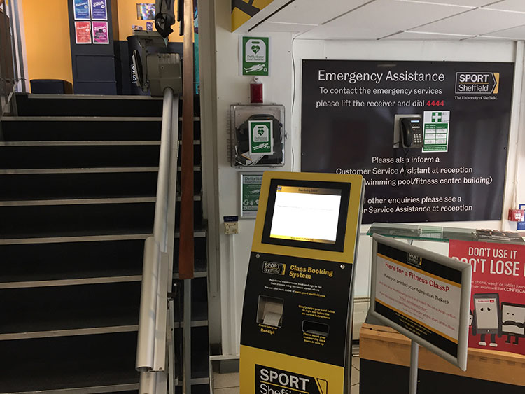 AED Sport Sheffield Goodwin Sports Centre