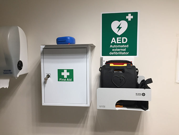 AED Students Union Closeup