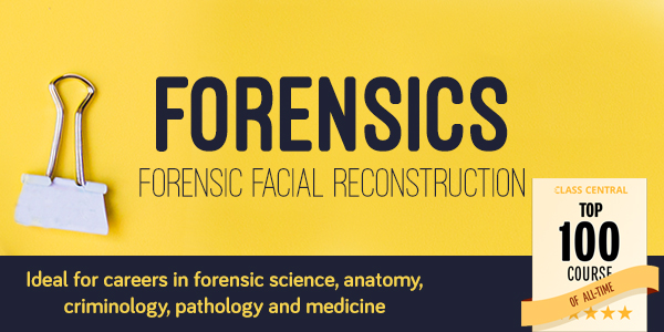 Forensic Facial Reconstruction. Ideal for careers in forensic science, anatomy, criminology