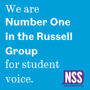 we are number one in the russell group for student voice