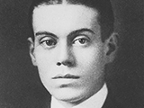 Cole Porter's Yale year book photo from 1913