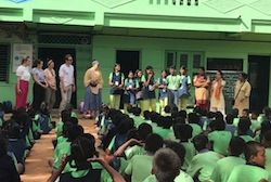 PGDE visit to Indian school