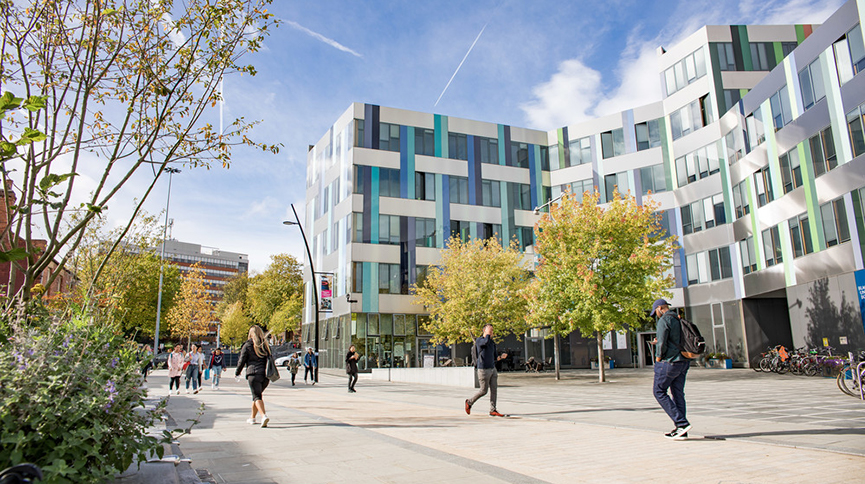 Jessop West building -the home of arts and humanities at the University of Sheffield