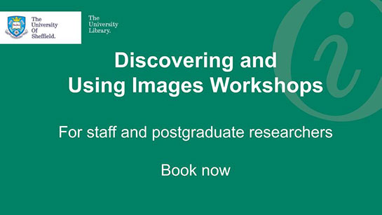 Details of upcoming Discovering and Using Images Workshops