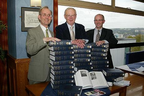 Picture from Launch of ODNB