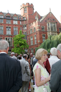 Photo: Former staff drinks reception