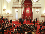 Queens Anniversary Prize ceremony