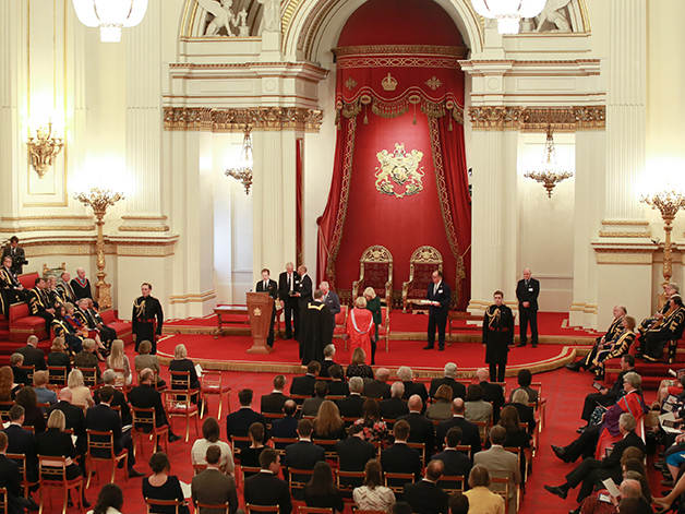 Queen's Anniversary Prize ceremony at Buckingham Palace