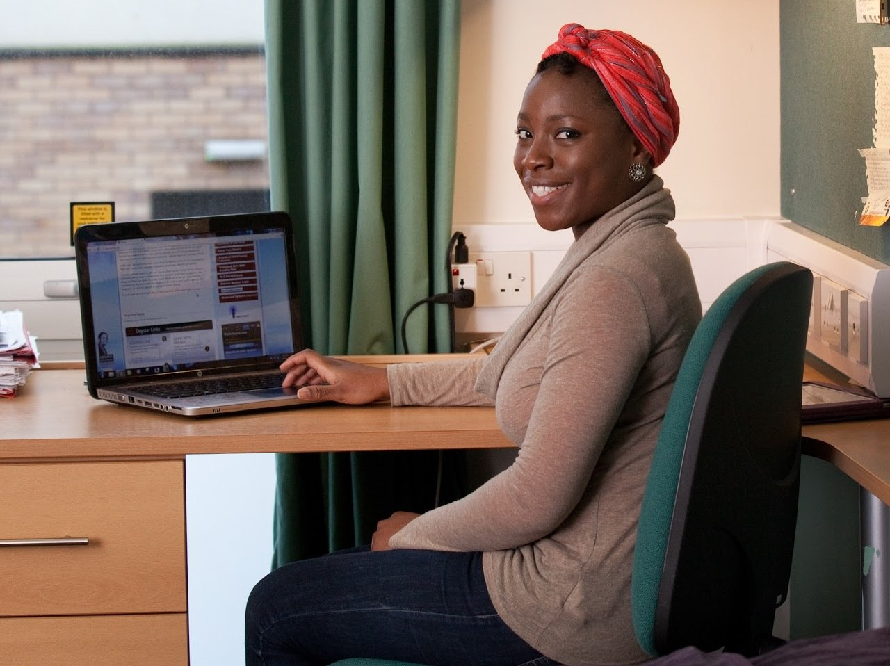 Online Learning in student accommodation