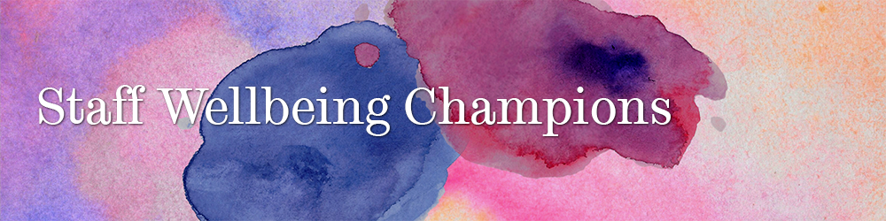 Wellbeing Champions title
