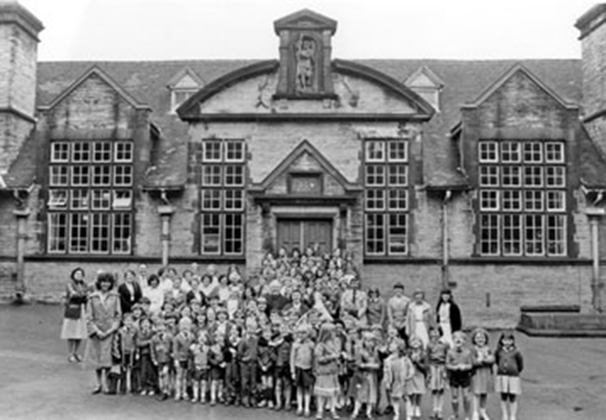 A photo of pupils and teachers from St Josephs School in Sheffield