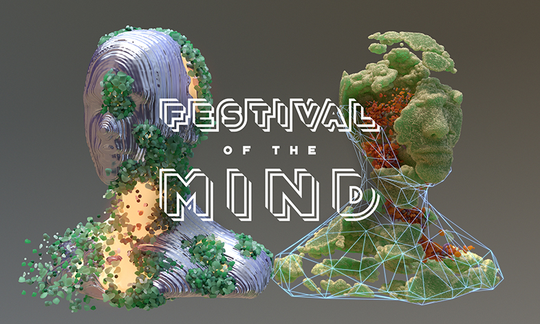 Festival of the Mind 2020, graphic image representing the festival logo.