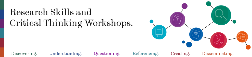 Research skills and critical thinking workshops