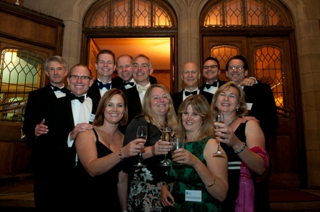 Image of 2011 Reunion guests at Firth Court