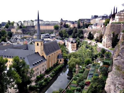 View of the Old City, Luxembourg City