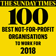 100 best not-for-profit organisations to work for - The Sunday Times