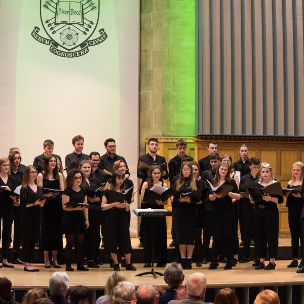 Music Firth Hall singing