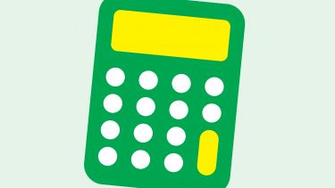 Illustration of calculator