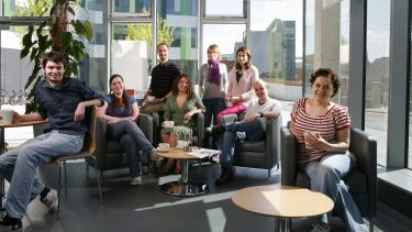 Postgraduate students at the University of Sheffield
