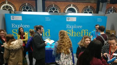 Sheffield stand at recruitment fair