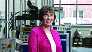 Dr Rachel Tomlinson, Department of Mechanical Engineering