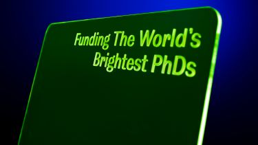 Funding the world's brightest PhDs