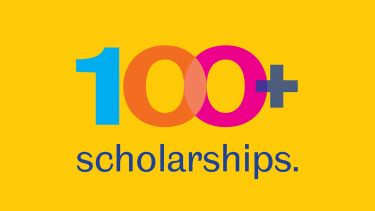 100+ Scholarships Logo