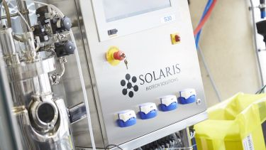 Solaris machine in laboratory