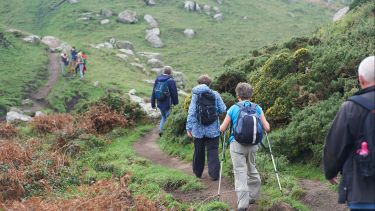 Healthy lifespan hiking