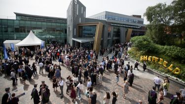 Graduation at The University of Sheffield 2018
