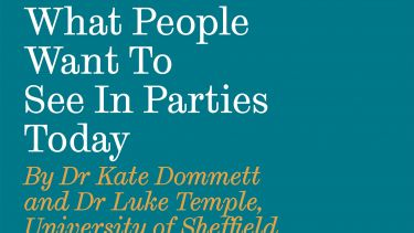 Report by Kate Dommett on political parties