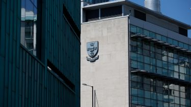 University of Sheffield exterior.