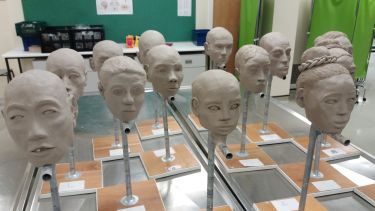 Facial reconstruction models