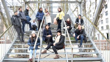 Sustainable architecture studies students on trip