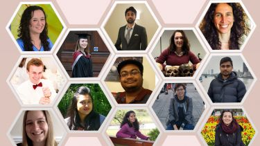 montage of PGR scholarship holders