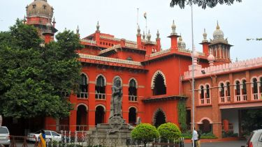 Exterior photo of Madras High Court in Chennai