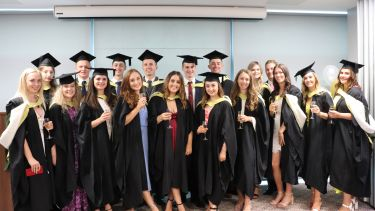 Sociological Studies students at graduation 2019