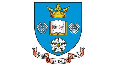 The crest of the University of Sheffield - image