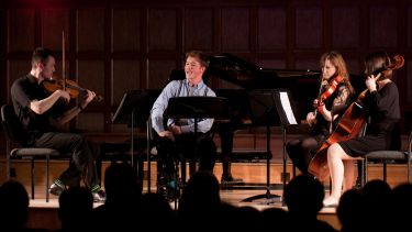 Concert performance in Firth Hall