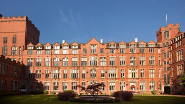 A wide shot of Firth Court - image