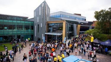 Students getting involved outside the Students' Union