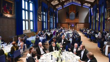 The Annual Alumni Reunion dinner 2017 in Firth Hall