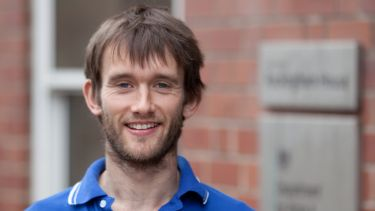 PhD student, James Oswald