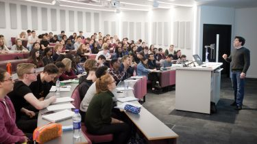 Photo of undergraduate lecture