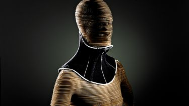 A visualisation of the Head Up Collar