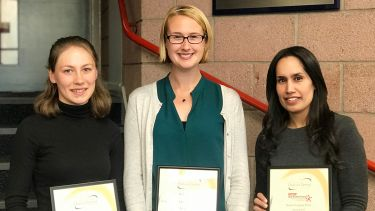 Award winners in the School of Clinical Dentistry