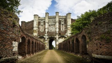 Thornton Abbey, a medieval abbey located close to the small North Lincolnshire village of Thornton Curtis, near Ulceby.