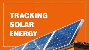 Tracking solar energy header image