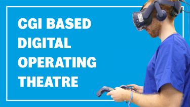 CGI operating theatre banner image