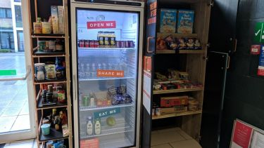 community fridge in the edge